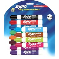 Expo® Broad Chisel Tip Dry Erase Markers (Set of 12)