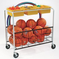 PE and Recess Storage Cart