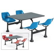 "Indoor/Outdoor Cluster Table, 24"" x 48"","