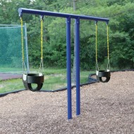 T Swing Set with Two Bucket Seats