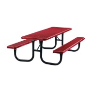 8' Steel Picnic Table,