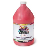 Color Splash!® Liquid Tempera Paint, Gallon,