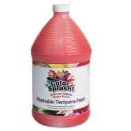 Color Splash!® Washable Tempera Paint, Gallon