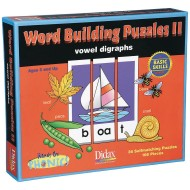 Phonics Word Building Puzzles II