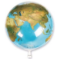 Non-Latex Earth Balloon, 22