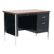Single Pedestal Desk,