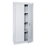Value Line Storage Cabinet, Extra Tall with 3 Shelves