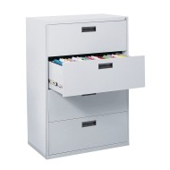 400 Series 4-Drawer Lateral File Cabinet