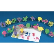 Color Splash!® Foam Stamp Assortment (Set of 20)