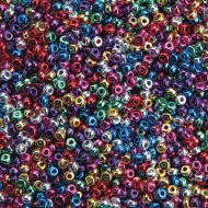 Color Splash!® Mini Metallic Pony Bead Assortment