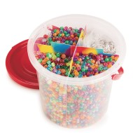 Color Splash!® Sparkle Pony Bead Bucket