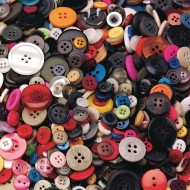 Color Splash!® Craft Buttons 1-lb. Bag