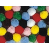 Color Splash!® Pom Pom Assortment, 1