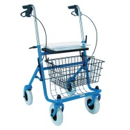 DMI Traditional Steel Rollator, Blue