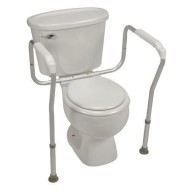 HealthSmart Toilet Safety Support with BactiX™