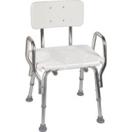 DMI Shower Chair with Back