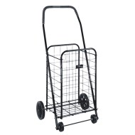 DMI Folding Shopping Cart, Black