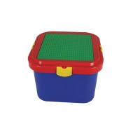 Block 'N' Lock® Building Block Storage Container with Building Plate