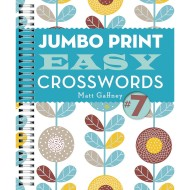 Jumbo Print Easy Crosswords Book 7