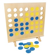 Giant Wooden 4 in a Row XL Game