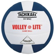 Tachikara® SV-MNC Volley Lite Volleyball, Navy/White