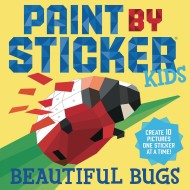 Paint by Sticker® Kids: Beautiful Bugs