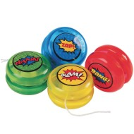 Mini Super Hero Yo-Yo Pack (Pack of 12)