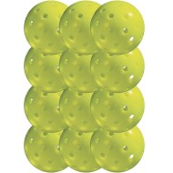 Franklin® Outdoor Optic Yellow Pickelballs, USAPA Approved (Pack of 12)