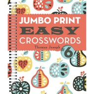 Jumbo Print Easy Crosswords Book 6