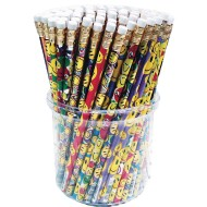 Smiley Pencil Assortment (Pack of 144)