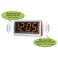 Reminder Rosie™ Recordable Alarm Clock