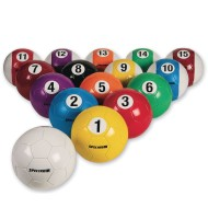 Soccer Billiard Balls (Set of 16)