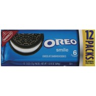 Nabisco® Oreo Cookies Individual Packs (Pack of 12)