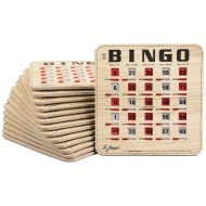Stitched Quick Clear Bingo Cards (Pack of 25)