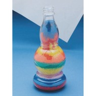 Genie Bottle Sand Art Bottle (Pack of 6)