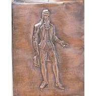Colonial Man Plastic Mold