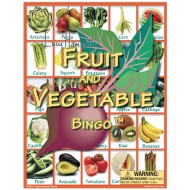 Lucy Hammet's Fruit & Vegetable Bingo Game