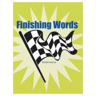 Finishing Words Book
