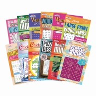 Digest Size Word Find Puzzle Book Set (Pack of 12)