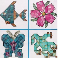 Mineral Mosaics Craft Kit (Pack of 32)