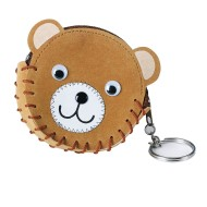 Teddy Bear Coin Purse Craft Kit (Pack of 12)
