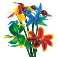 Flexible Fun Flowers Craft Kit (Pack of 24)