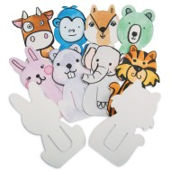 Color-Me™ Animal Clip Bookmarks (Pack of 24)