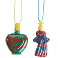Sand Art Necklace Craft Kit (Pack of 24)
