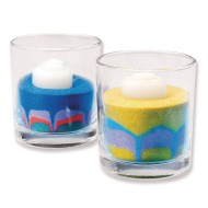 Sand Art Candles Craft Kit (Pack of 24)