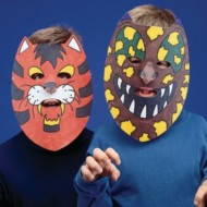 Animal Masks Craft Kit (Pack of 24)