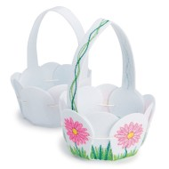 Color-Me™ Felt Petal Basket (Pack of 12)
