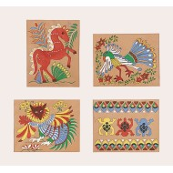 Mexican Bark Painting Craft Kit (Pack of 24)