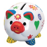 Piggy Banks Craft Kit (Pack of 12)