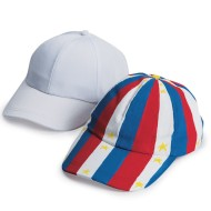 Color-Me™ Baseball Caps (Pack of 12)